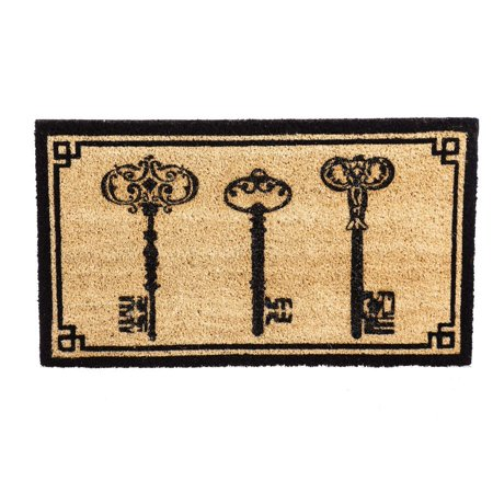 Evergreen 3 Keys Coir Mat, 16 x 28 inches, Welcome guests to your home with this inviting Home State welcome mat By Evergreen Flag from USA ()