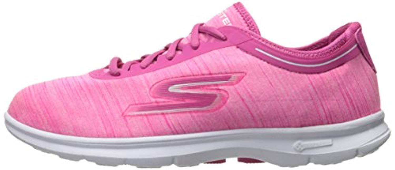 Skechers Performance Walking Women's Go Step Vast Walking Performance Shoe,Hot Pink Heather,8.5 M US cceadf