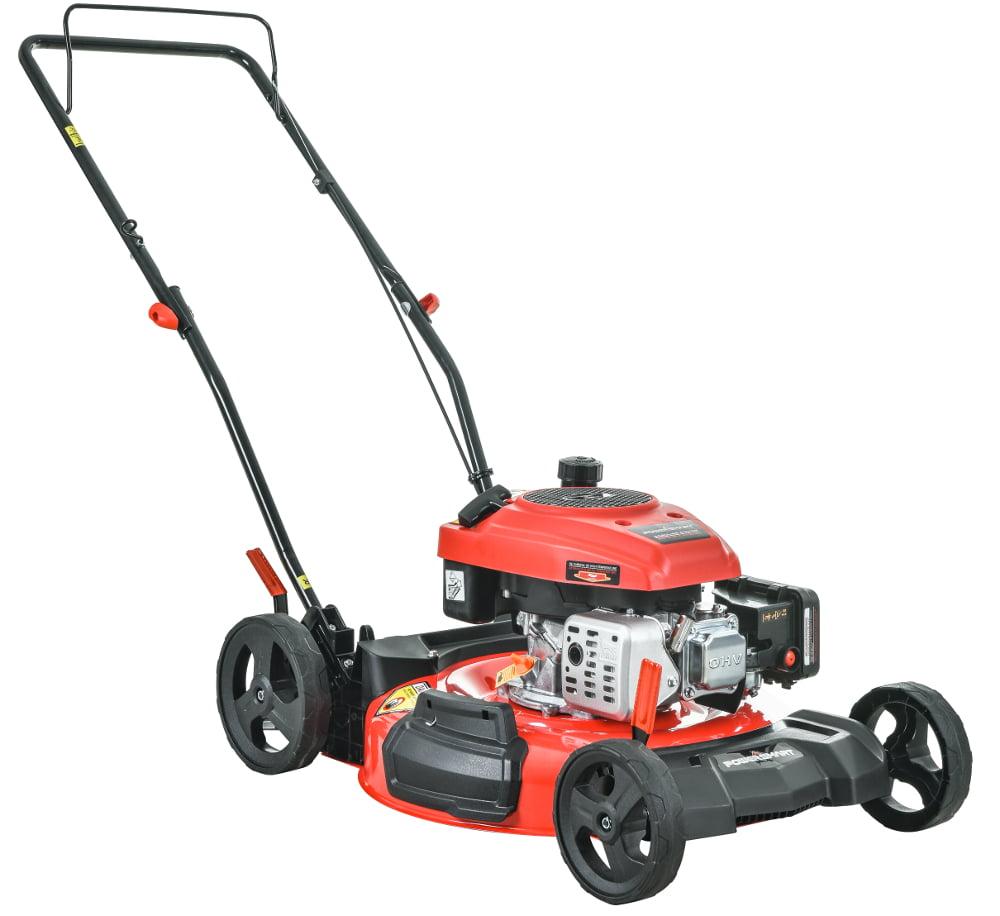"""PowerSmart DB2194C 21"""" 2-in-1 160cc Gas Push Lawn Mower"""