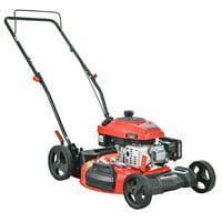 """PowerSmart DB2194C 21"""" 2-in-1 161cc Gas Push Lawn Mower"""