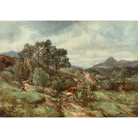 Posterazzi Royal Scottish Academy 1907 Ben Venue Canvas Art - Alexander Fraser (24 x 36)