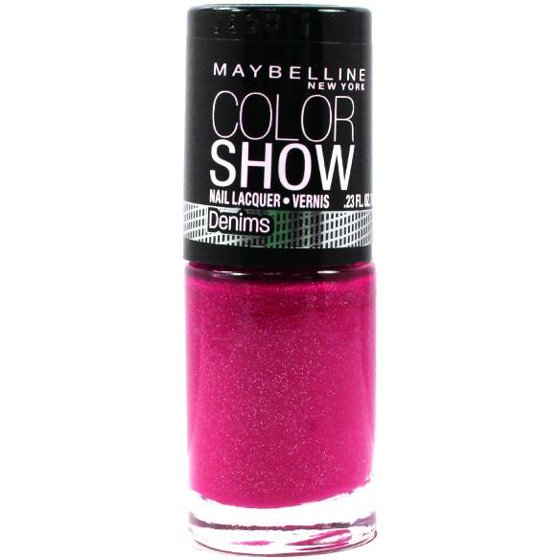 Discontinued**Maybelline Color Show Nail Lacquer, Chiffon Chic ...