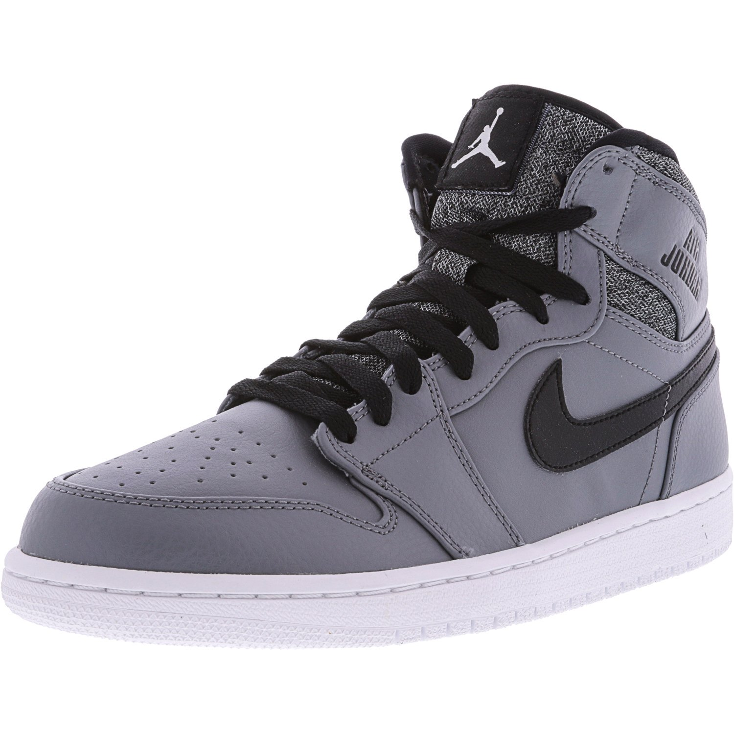 free shipping 000a1 79824 Nike Men's Air Jordan 1 Retro High Deep Royal / Black White High-Top  Basketball Shoe - 12M