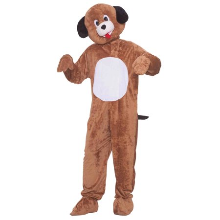 Puppy Mascot Adult Halloween Costume, Size: Men's - One Size