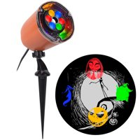 Gemmy Industries Multicolor LED Whirl a Motion Nightmare Before Christmas Halloween Light Projector