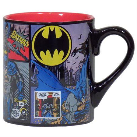 Batman Comic Panels 14oz Coffee - Batman Mug