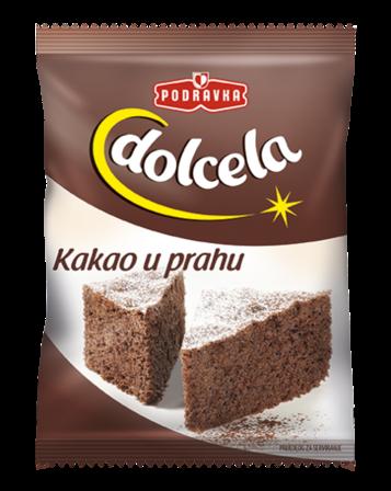 Cocoa Powder, KAKAO U PRAHU (Podravka) 3.5 oz (100g) by