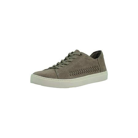 Toms Women's Lenox Slub Chambray Ankle-High Fabric Fashion, Grey, Size 10.0](Desert Wedges Toms)