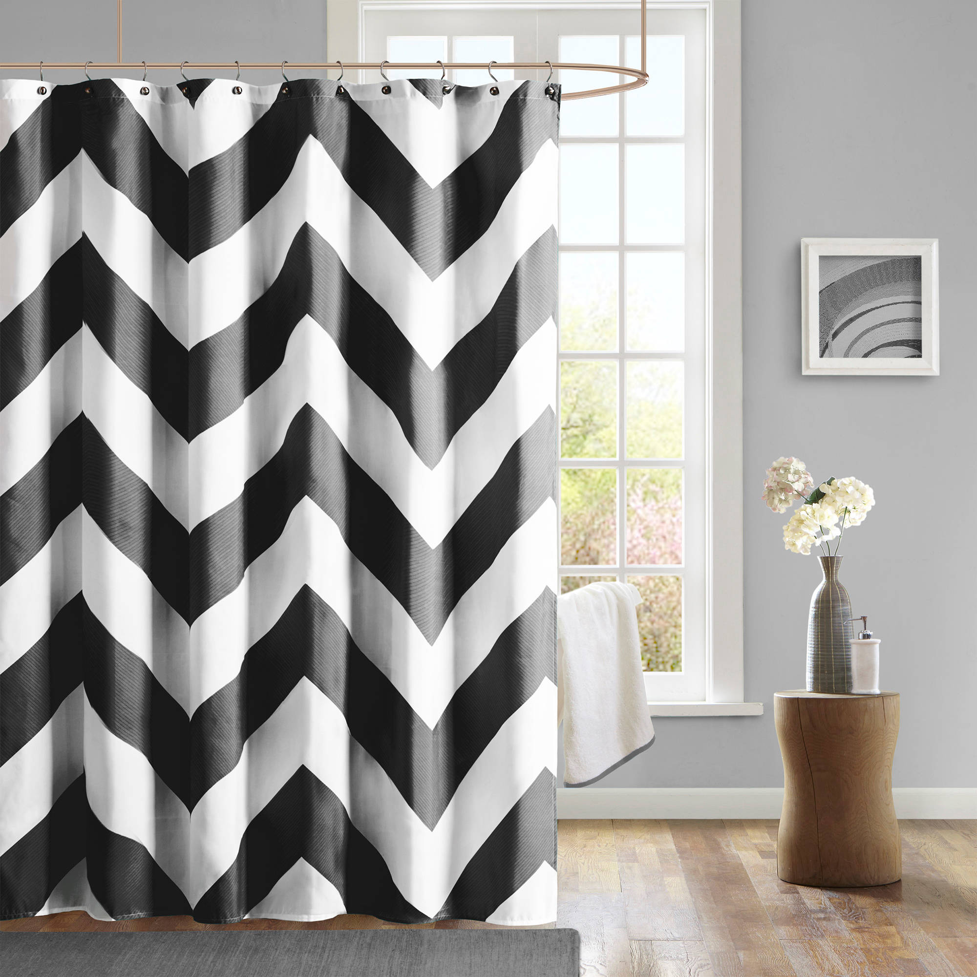 Home Essence Teen Leo Microfiber Printed Shower Curtain