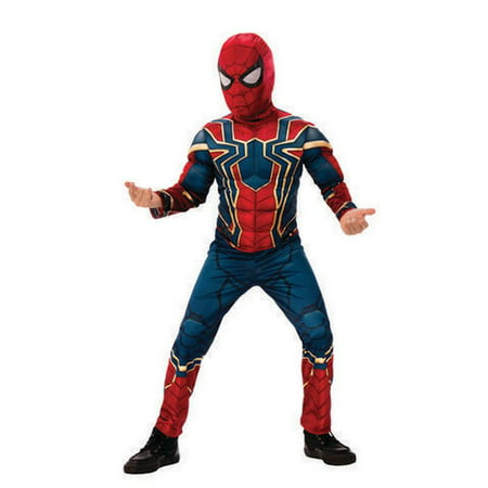 Halloween Bread Costume (Rubies Iron Spiderman Boys Halloween)