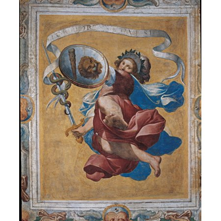 Decoration Of Villa Visconti Borromeo Litta In Lainate Canvas Art - (18 x 24)