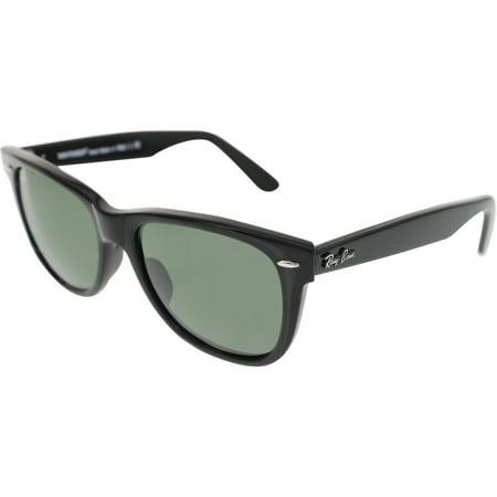 Ray-Ban Men's Original Wayfarer RB2140-901-54 Black Wayfarer Sunglasses