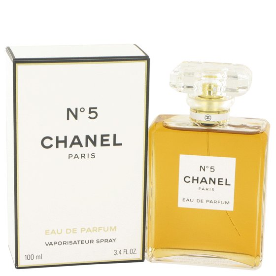 Chanel Chanel No 5 Eau De Parfum Spray For Women 34 Oz Walmartcom