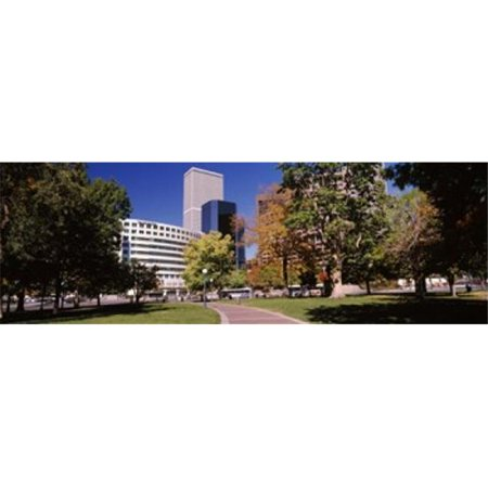 Panoramic Images Ppi145671l The Denver Post Building  Denver  Colorado  Usa Poster Print By Panoramic Images   36 X 12