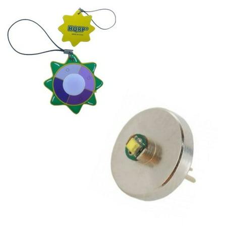 (HQRP Hight Power 3W 60 Lumens Bi-Pin LED MODULE / Bulb for 1 AAA Maglite Solitaire / Mag-Lite Mini Flashlight plus HQRP UV Meter)