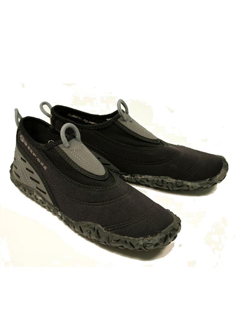 Deep See Beachwalker Men's Water Shoes: Neoprene Low-Top Tropical Booties by Deep See