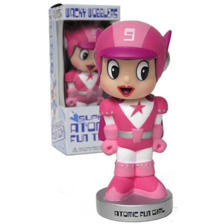Exclusive Wacky Wobbler (Funko Super Atomic Fun Team Wacky Wobbler Atomic Fun Girl Bobble)