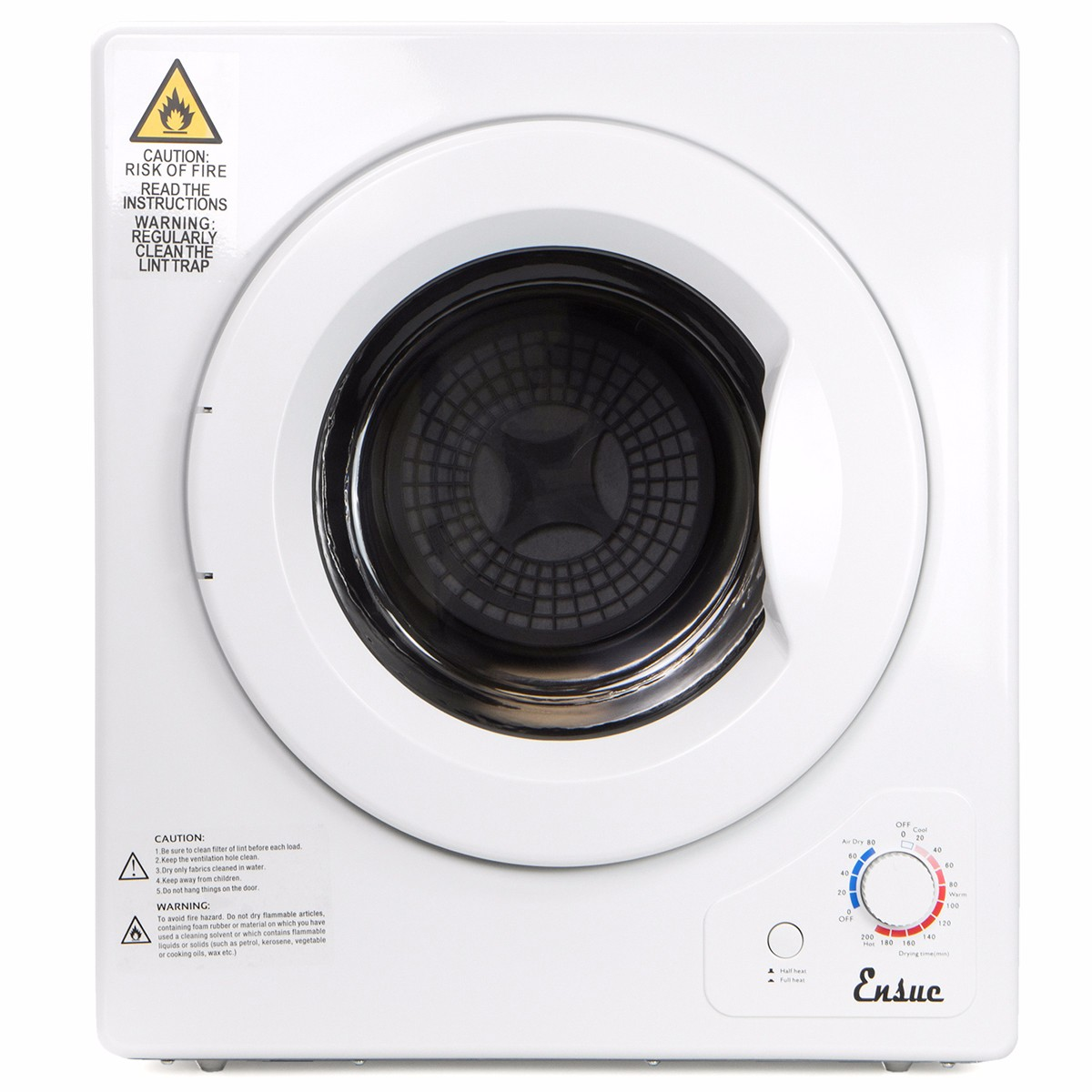 9LB Electric Tumble Dryer Portable Laundry Compact RV Dome