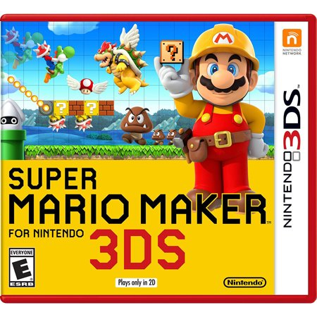 Super Mario Maker for 3DS, Nintendo, Nintendo 3DS, [Digital Download], 0004549668164