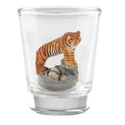 TIGER DECORATIVE SHOT GLASS
