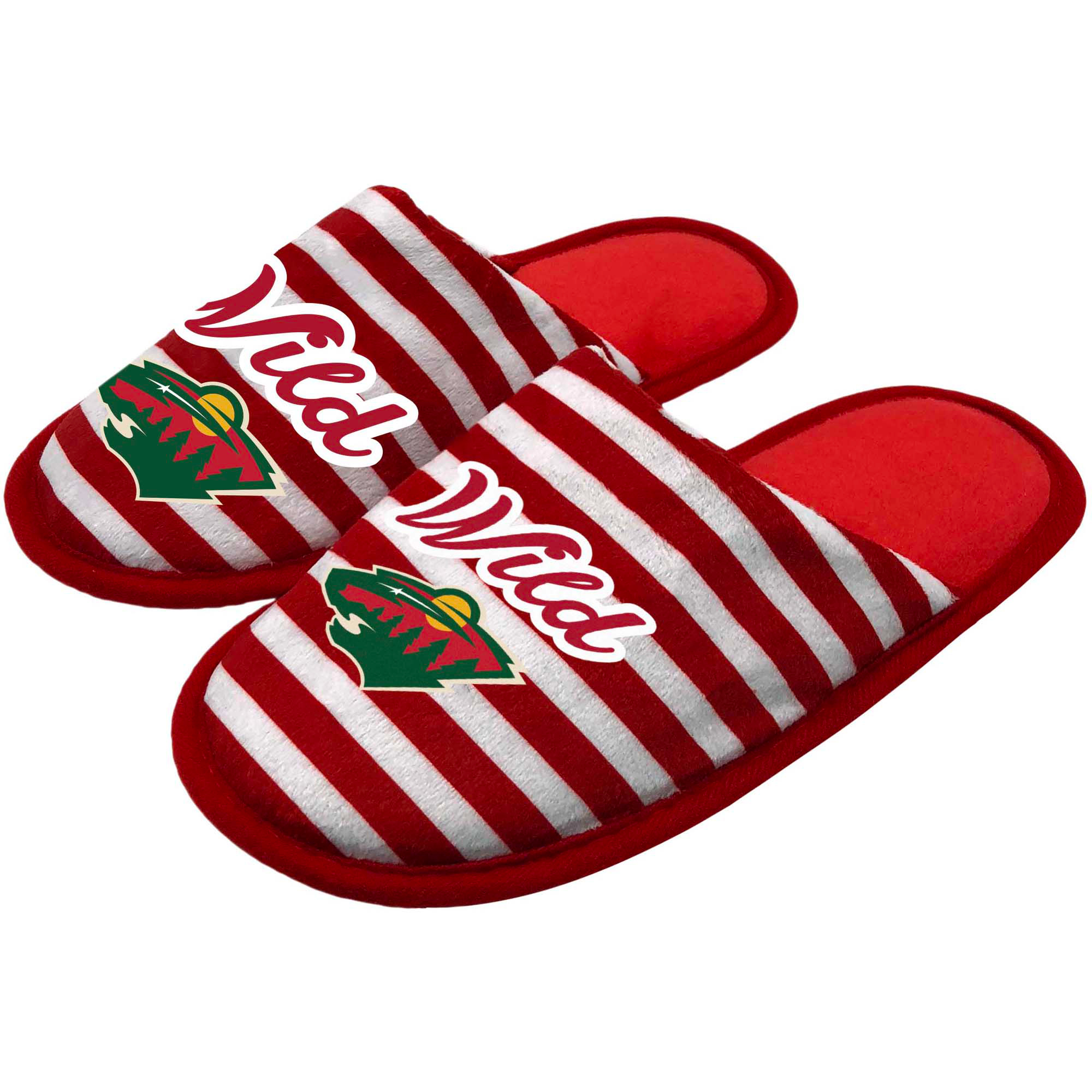Minnesota Wild Women's Scuff Slippers