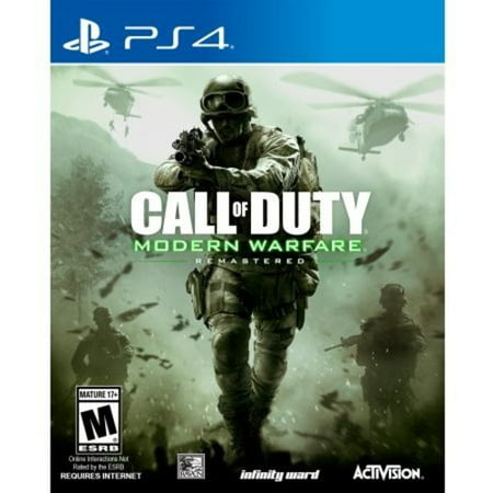 Call of Duty: Modern Warfare Remastered, Activision, PlayStation 4,