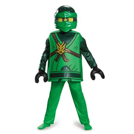 Lego Character Costume (LEGO® Ninjago Lloyd Deluxe Costume for)