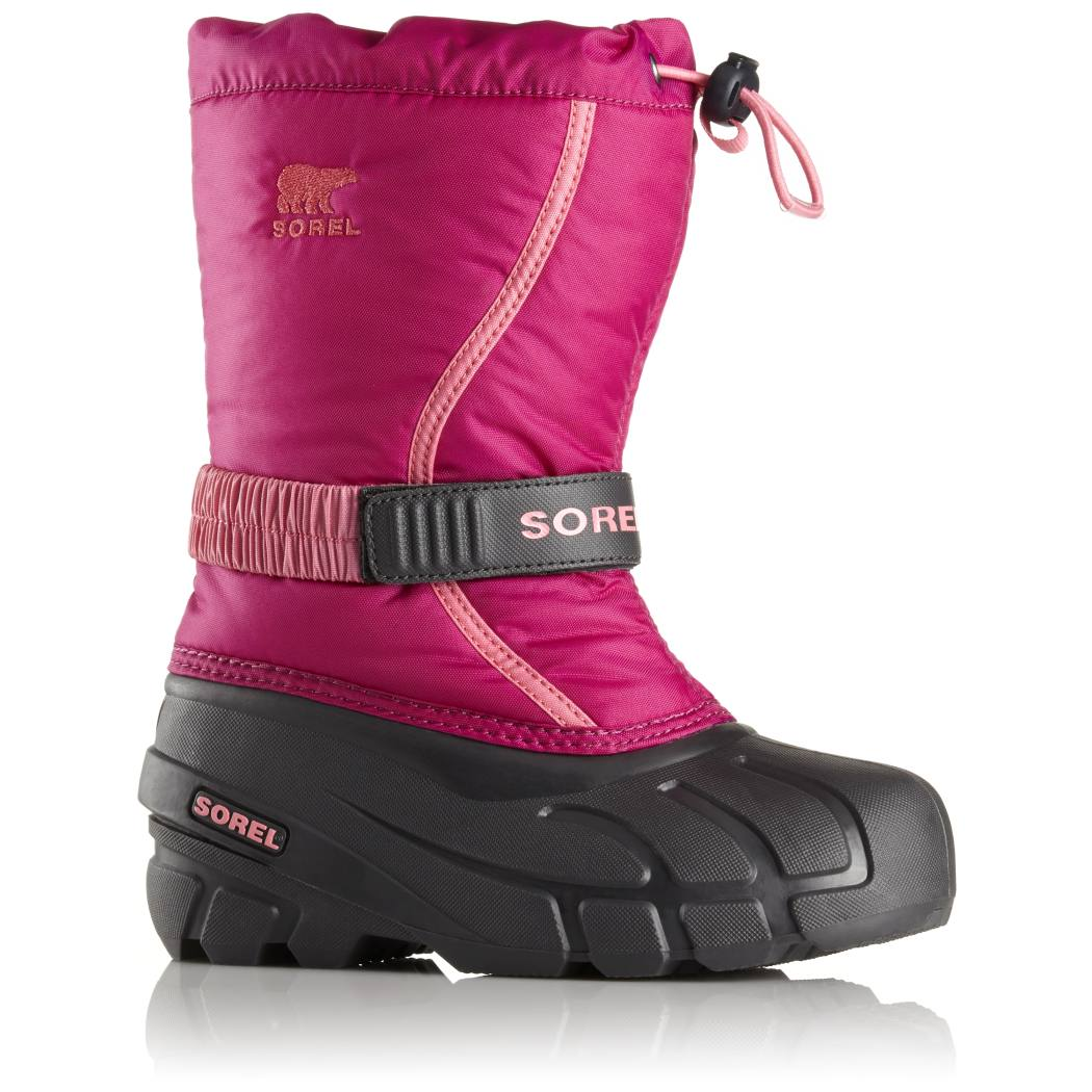 Sorel Toddler Snow Commander Deep Blush//Tropic Pink Synthetic Baby Snow Boots