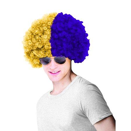 Louisiana State University Costume Wig Adult