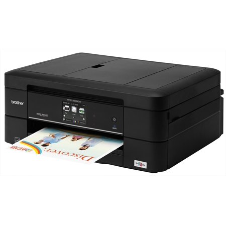 Brother Mfc J680dw Inkjet Multifunction Printer   Color   Photo Print   Desktop   Copier Fax Printer Scanner   15 Second Photo   6000 X 1200 Dpi Print   Support Borderless Media  Plain  Mfcj680dw
