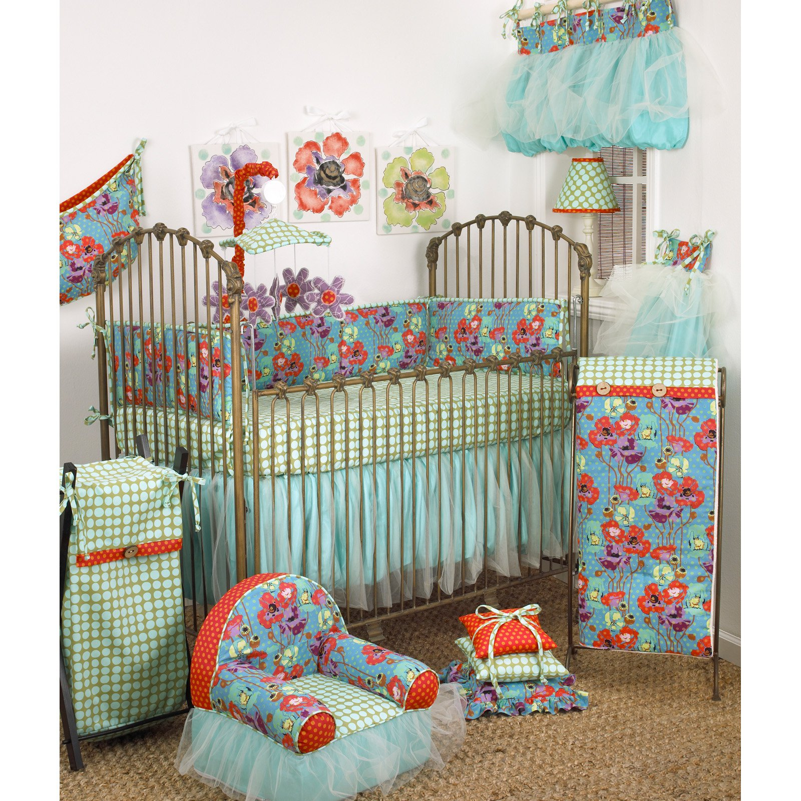 7 Piece Crib Bedding Set by Cotton Tale Designs
