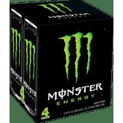 Monster Original Energy Drink, 16 Fl. Oz., 4 Count