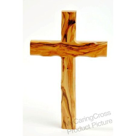 Olive Wood Catholic Cross (10 Inches) for $<!---->