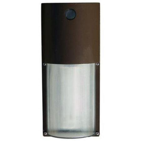2 Light Surface Mount (Dabmar Lighting W2004-LED5-BZ 2 x 5W & 120V LED Polycarbonate Surface Mount Wall Fixture - Bronze )