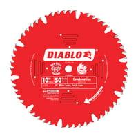 Diablo 10 in. Dia. x 5/8 in. Carbide Tip Combination Saw Blade 50 teeth 1 pk