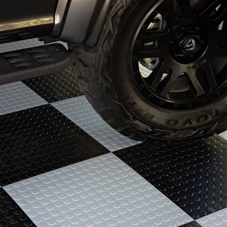 FlooringInc Coin Flex Nitro Tiles Black (20.5
