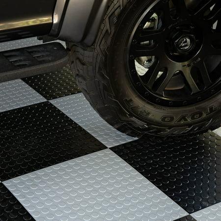 Flooringinc Coin Flex Nitro Tiles Black 20 5 Quot X20 5