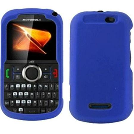 PCS NEXI475FAC2 Motorola Clutch Plus Nextel i475 Rubberized Snap-On Cover  Blue