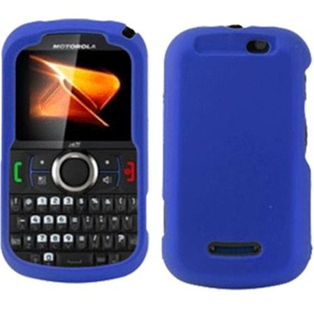 PCS NEXI475FAC2 Motorola Clutch Plus Nextel i475 Rubberized Snap-On Cover Blue