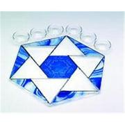Judaica SF-SP-1031 11'' x 11'' Star of David Seder Plate I