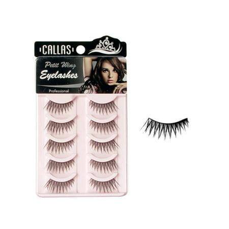Callas Petit Wing Eyelashes (CWL-13) - Glow In The Dark Eyelashes