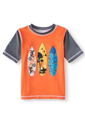 Wonder Nation Toddler Boy Rash Guard