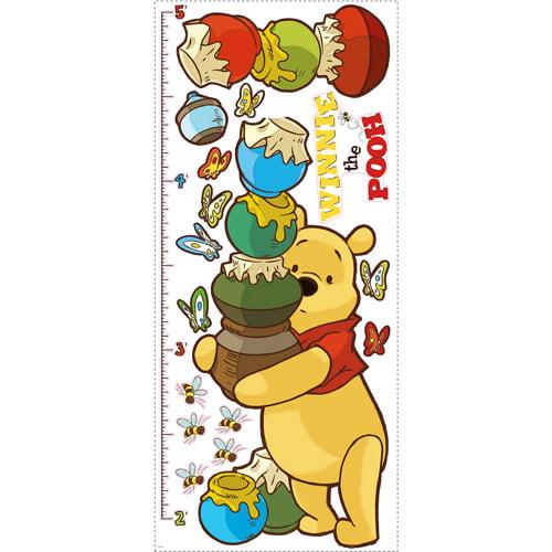 Disney - Peel & Stick Growth Chart, Winnie the Pooh