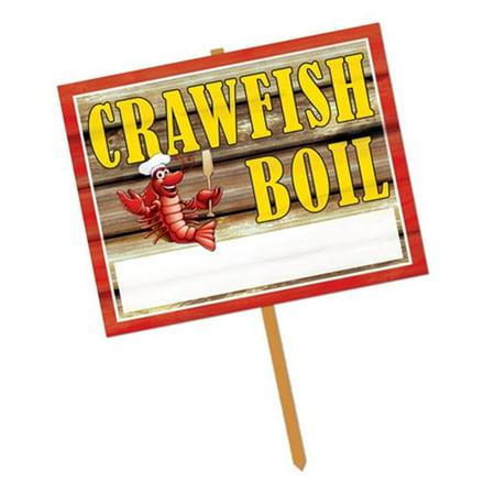 Beistle 54910 Connexion Crawfish Boil Jardin - Pack de 6 - image 1 de 1