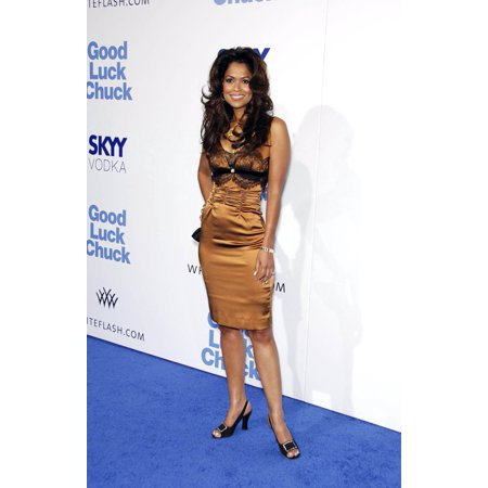 Good Design 2007 - Tracey Edmonds At Arrivals For Good Luck Chuck Premiere Gibson Amphitheatre At Universal Studios Los Angeles Ca September 19 2007 Photo By Michael GermanaEverett Collection Celebrity