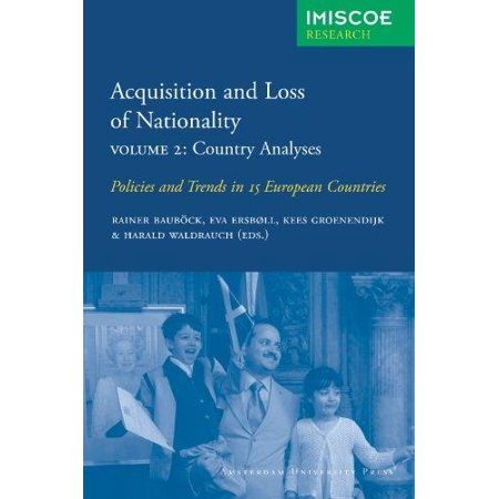 Acquisition And Loss Nationality Vol  2   Country Analyses