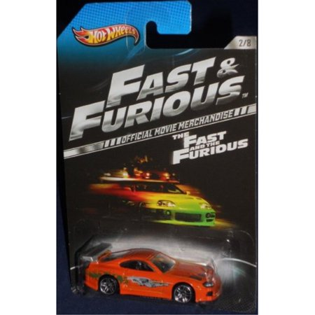 Hot Wheels 2013 The Fast and the Furious MovieToyota Supra 2/8, (Toyota Supra Hot Wheels Fast And Furious)
