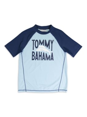 Tommy Bahams Boys Rash Guard, Sizes 4-18