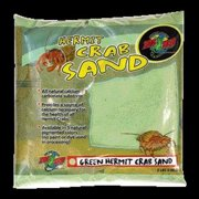 Zoo Med Hermit Crab Sand, 2 Lb, Green