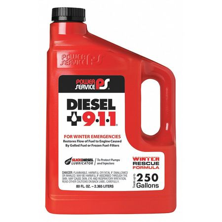 Diesel Fuel Additive, 80 oz. POWER SERVICE PRODUCTS 08080-06
